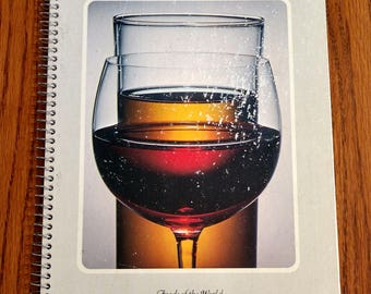 Time Life Books Foods Of The World Recipes: Wines and Spirits 1968 Vintage Cookbook