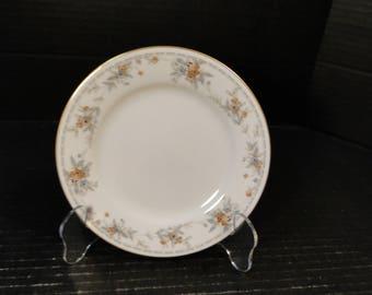 """Noritake Legendary Secret Love Bread Plate 3481 6 1/4"""" NICE!"""