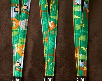 Jungle Book Disney Lanyard