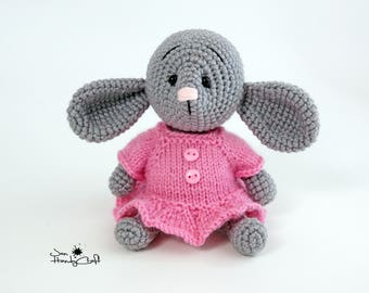 Baby mouse Stuffed animal Mouse plush toy Stuffed mouse doll Gift for girl Woodland animal