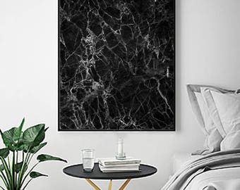 Black white wall art Etsy