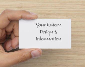 Custom Standard Business Card