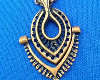 Juhani Vuorisalmi bronze necklace Finland