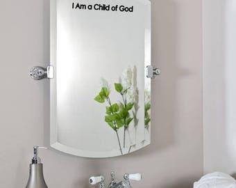 TEN 2018 Small Vinyls - I Am a Child of God - (10) LDS