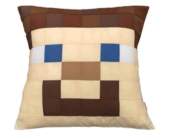 Steve from Minecraft Cushion/Pillow