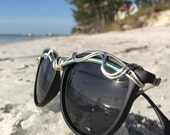 New Arrival POLARIZED Sunglasses Womens Glasses Wire Wrapped ARTiSAN OOaK <> SPUNGLASSES <> Eyewear Eyeglasses <> Amazing Fit Free Shipping