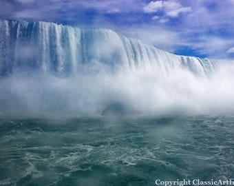 Landscape Photography, Niagara Falls, Landscape Print, Digital Download, Niagara Falls Print, Landscape Photo, Waterfall Photo