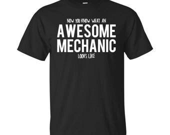Mechanic Shirt, Mechanic Gifts, Mechanic, Awesome Mechanic, Gifts For Mechanic, Mechanic Tshirt, Funny Gift For Mechanic, Mechanic Gift