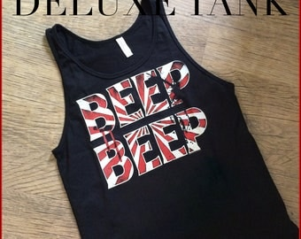 Beep Beep Tank - Stephen King IT inspired Tank - Horror movie shirt - book inspired shirt - Nameless City Apparel t-shirt - horror tee