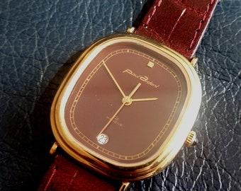 SWISS PAUL ARDENT Oz Geneve Men's Unisex Wrist watch, New Old Stoke Swiss Paul Ardent Quartz Date Wrist Watch, Swiss Paul Ardent Wrist Watch