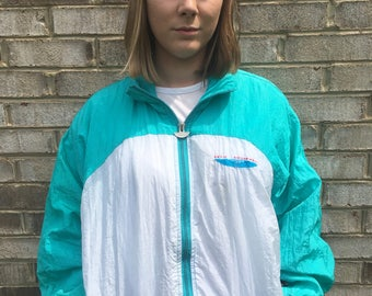 Teal Large Windbreaker Set with Pants
