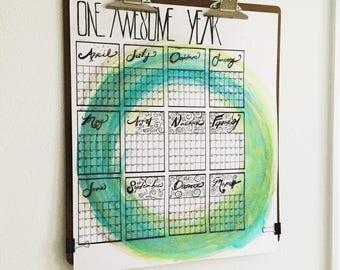 Custom Dream Calendar