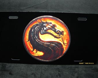 DRAGON METAL Novelty license Plate for Cars