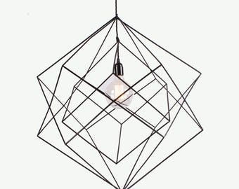 The Skeleton Pendant - 45cm Cubed