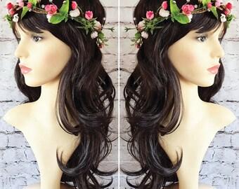 Blossom & Diamante Flower Crown