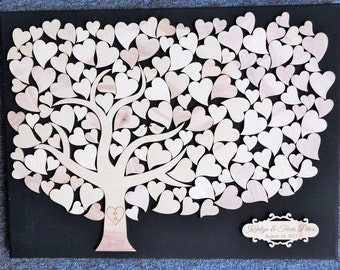 Love Birds Tree Wedding Guestbook