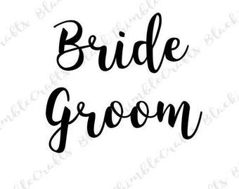 Bride svg, groom svg, Wifey svg, wedding svg, bride svg, newlywed svg, couple svg, engagement svg, fiance svg, bachelorette svg, engaged svg