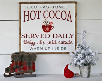 Hot Cocoa Served Daily SVG