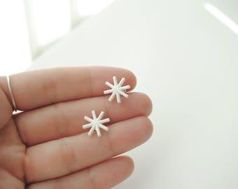 Stars Earrigns 3D printed