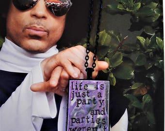Prince 1999 Pendant Necklace