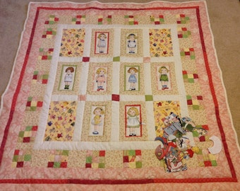Paperdoll Play Quilt