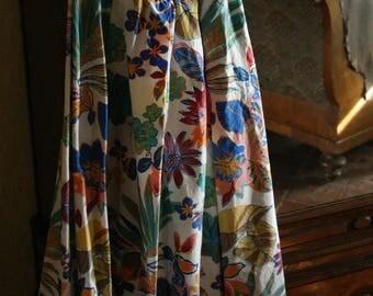 Flowers ' Skirt 50 vintage style