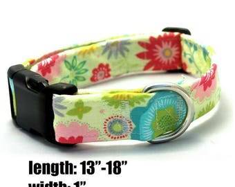 Medium Colorful Floral Collar