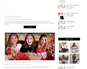 Lifestyle Fashion Wordpress Theme, Wordpress Ecommerce Theme Responsive Blog Theme Design - Carina ( Free Installation )