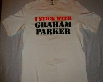 Ultra Rare Graham Parker Stick to Me Promo Shirt