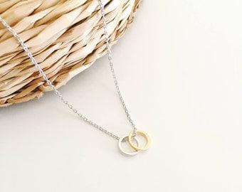 Dainty necklace, karma necklace,friendship necklace, minimalist jewelry