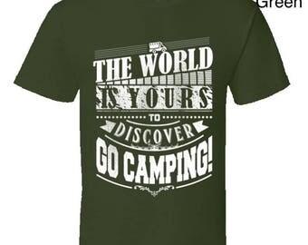 Funny camping t shirt,Camping Shirt, Camping Tshirt,Camping Gift,Camping Gear,Camping Life,bbq t shirt,campfire camping,Go Camping T Shirt