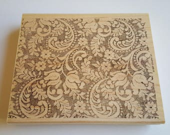 Victorian Lace - Stampin' Up! Rubber Stamp Set - Rubber Stamps - Rubber Stamps Set - Victorian Stamp - Lace Stamp