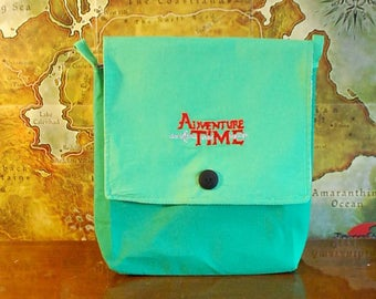 Adventure Time inspired Simple Purse (Free Shipping)