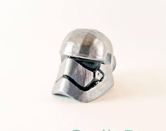 Captain Phasma / First Order Trooper Pull Knob Star Wars Force Awakens Star Wars Home Decor Furniture Knobs Cabinet Knobs Drawer Pulls