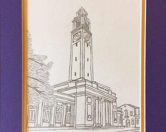 Louisiana State University LSU Memorial Tower