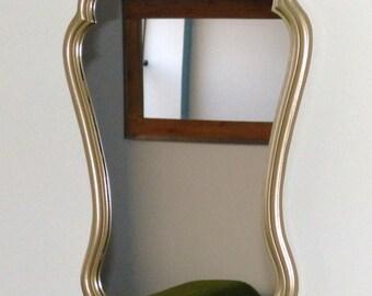 gold mirror resin raw , retro, antique gold 1960
