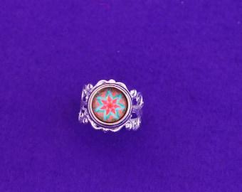 Lotus flower rings