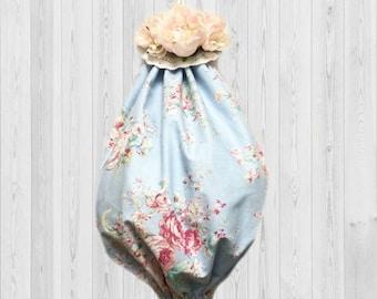 Kitchen Organization, Cottage Chic Decor, Grocery Bag Holder, Kitchen Storage, Gift for Her, Kitchen Gift, Kitchen Wall Decor, Shabby Decor