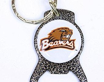 Oregon State Beavers Keychain & Keyring - Bottle Opener