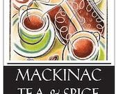 MACKINAC ISLAND CHAI - Chocolate Chai Tea - pics and descriptions to come soon.