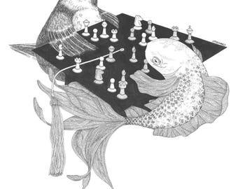 The Next Move Art Print (Digital Download)