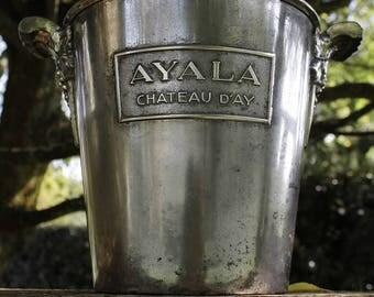 Vintage champagne bucket AYALA 1900
