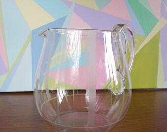 Glass Carafe 60 years