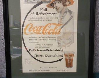 Coca-Cola Arrow ad from Modern Priscilla magazine in 1913