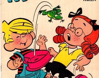 Dennis the Menace and Margaret #1 Hallden/Fawcett Comic Book VG/FN 5.0 1969
