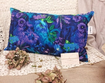 John C flowers pillow cover.