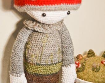 Crochet  Toadstoal  Amigurumi Toy