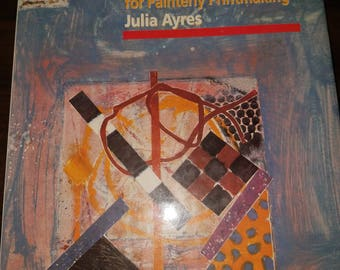 """Signed First Edition Julia Ayres """"MONOTYPE"""" 1991"""