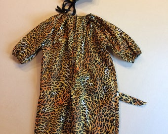 Leopard costume kids toddler costume
