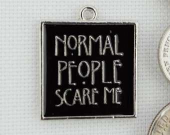 Normal People Scare Me Needleminder / American Horror Quote Needle Minder